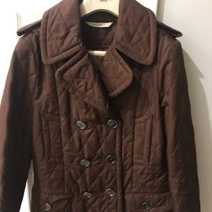 Quilted Burberry jacket women's small
